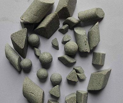 龙南棕刚玉研磨石
